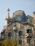 Gasa Batllo in Barcelona, Spain Royalty Free Stock Photos