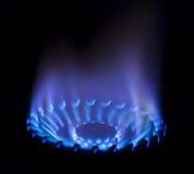 gasa flammar Arkivbilder