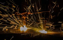 Gasausschnitt des Metalls Lizenzfreie Stockfotografie