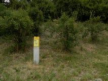 Gasbeitrag und -büsche Lizenzfreies Stockbild