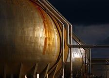 Gasbereich lizenzfreies stockbild