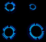 gasbrännaregas royaltyfri fotografi
