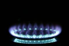 gasbrännaregas Arkivbilder