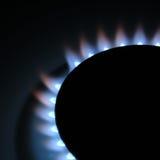 gasbrännareugn Arkivbilder