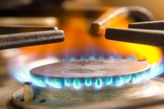 Gasbrännareugn arkivfoto