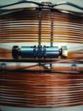 Gaschromatographiespalte Lizenzfreies Stockfoto
