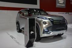 GASCROMATOGRAFIA di concetto di Mitsubishi al salone dell'automobile di Ginevra Fotografia Stock Libera da Diritti