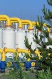 Gasdotto Fotografie Stock Libere da Diritti