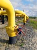 Gasdotto Immagini Stock