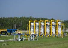 Gasdotto Fotografia Stock