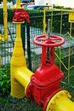 Gasdotto. Immagini Stock Libere da Diritti