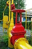 Gasdotto. Fotografie Stock