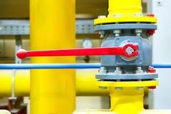 Gasdotto di un'alta pressione Immagini Stock Libere da Diritti