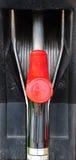 gasdysor pump servicestationen Royaltyfria Foton