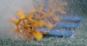 Gaseificadores da roda de pá filme