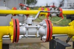 Gaseoducto Foto de archivo libre de regalías