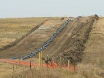 Gaseoducto natural Imagen de archivo libre de regalías