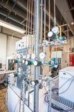Gases concentrados del laboratorio Fotos de archivo