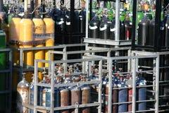 Gases de la soldadura Fotos de archivo libres de regalías