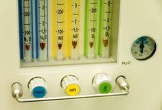 gases läkarundersökning fotografering för bildbyråer