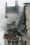 Gasexplosion Stockfoto
