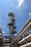 Gasfabrik Stockfoto