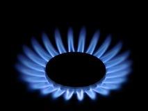 Gasflammen. Lizenzfreie Stockfotos