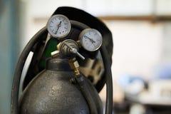 Gasflasche lizenzfreies stockfoto