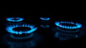 Gasfornuis Royalty-vrije Stock Afbeeldingen