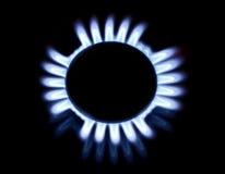 Gasgasbrännare Arkivbild