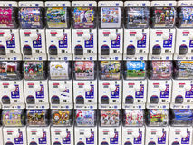Gashapon machines. Capsule toy vending machine Royalty Free Stock Photography
