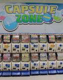 Gashapon machines. In Hong Kong.  are similar to the coin-operated toy vending machines seen outside of grocery stores and other retailers in other countries Stock Photography