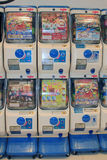 Gashapon machines Royalty Free Stock Photo