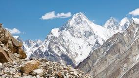 Gasherbrum IV, Karakorum, Pakistan stockbild