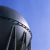 Gashouder Stock Foto's