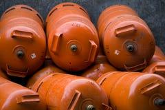 Gashouders Stock Afbeeldingen