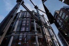 Gashouders Londen stock foto