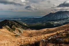 Gasienicowa dolina Fotografia Stock