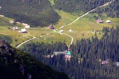 Gasienicowa-Tal in Tatra-Bergen Stockfoto
