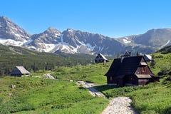Gasienicowa Valley, Tatra Mountains, Poland Stock Image