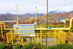 gasification Arkivfoton