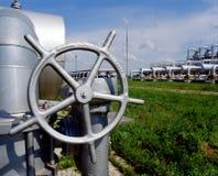 gasindustri Royaltyfria Foton