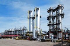 Gasindustrie stockbild