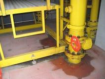 Gasinstallatie Стоковые Изображения RF