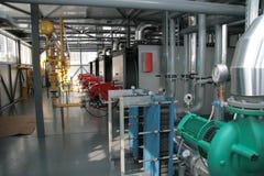 Gaskesselhaus Stockfoto