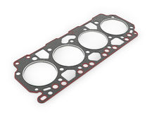 Gasket car engine cylinder head, Stock Image