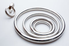 Gasket and flanges for mechanical seal Stock Image