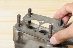Gasket replacement Royalty Free Stock Photography