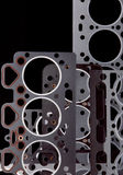 Gasket set Royalty Free Stock Images