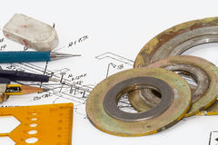 Gaskets Stock Photography